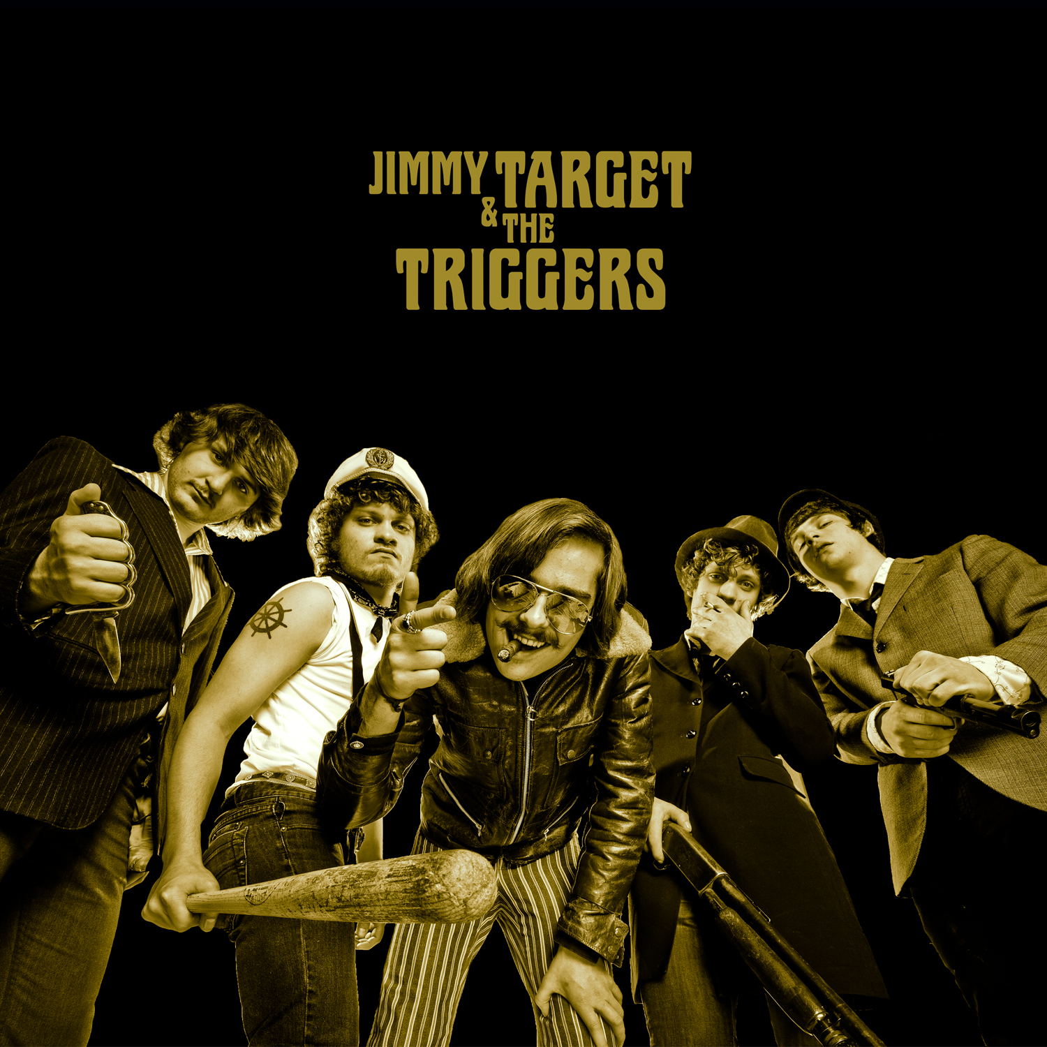 Pochette Jimmy Target Jimmy Target & The Triggers