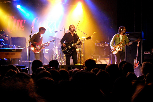 The Coral @ C-Club Berlin 28.10.2010